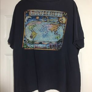 """2011 Jimmy Buffet """"Welcome to Finland"""" T-Shirt L"""